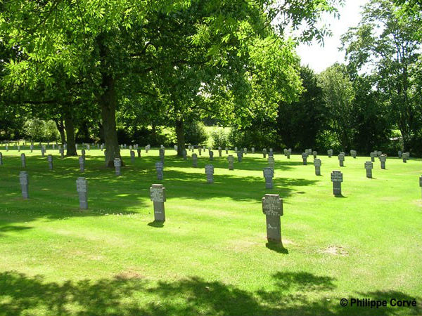 German cemetery at Orglandes