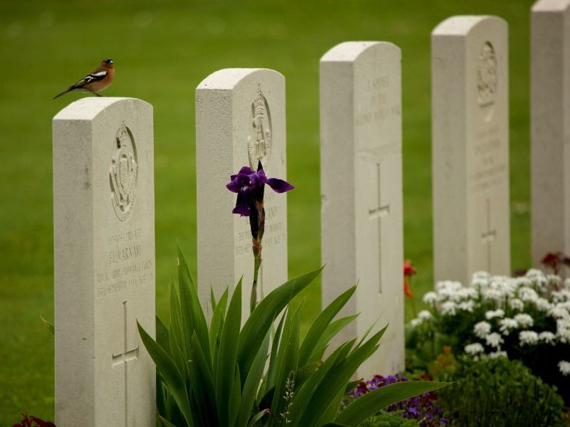 English cemetery at Bayeux